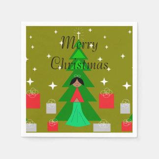 Weihnachten Carol Servietten