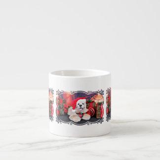 Weihnachten - Cocker spaniel - Tobey Espressotasse