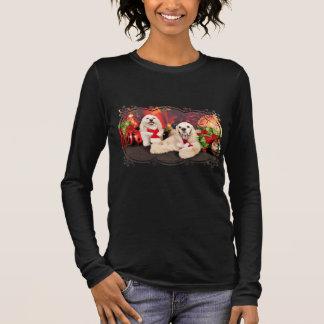 Weihnachten - Cockerspaniel - Toby, Havanese - Langarm T-Shirt