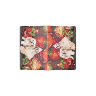 Weihnachten - Cockerspaniel - Toby, Havanese - Moleskine Taschennotizbuch