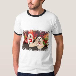 Weihnachten - Cockerspaniel - Toby, Havanese - T-Shirt