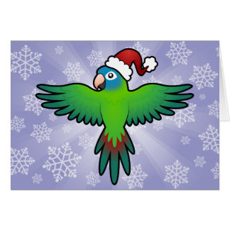 Weihnachten Conure/Lorikeet/Papagei Karte