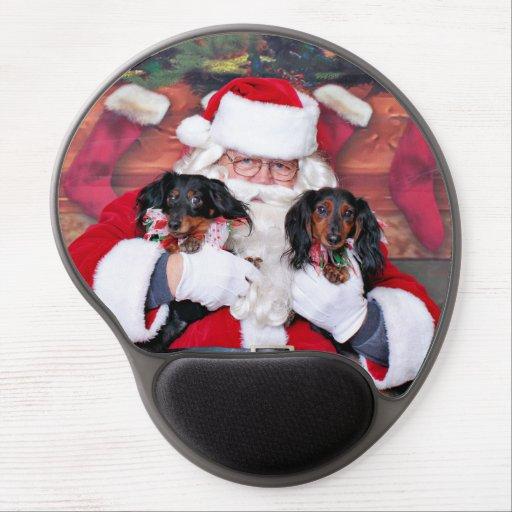 Weihnachten - Dackel - Mickey u. Madilyn