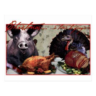 Weihnachten… eine Zeit zu verzeihen Postkarte