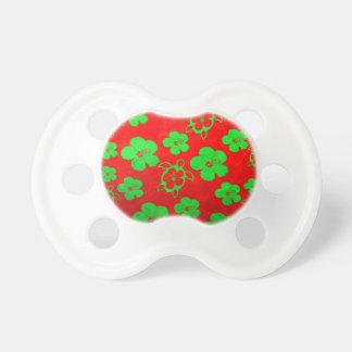 Weihnachten färbt hawaiisches Honu Schnuller