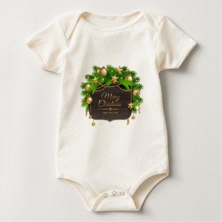 Weihnachten, Feiertage, Dekorationen, Feier Baby Strampler