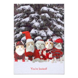 Weihnachten/Ferienzeit-Einladung 12,7 X 17,8 Cm Einladungskarte