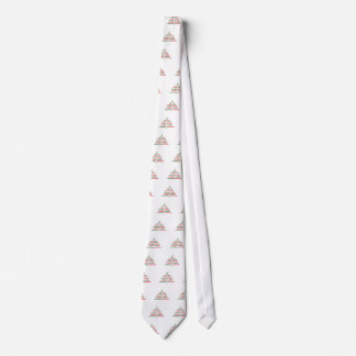 Weihnachten-Festlich-Baum Krawatte