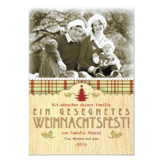 Weihnachten Foto-Karte Grußkarte Individuelle Einladungen