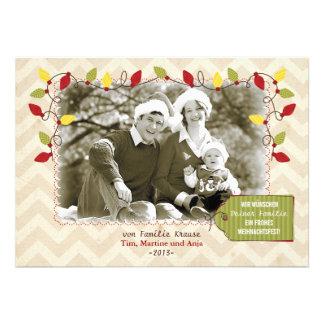 Weihnachten Foto-Karte Grußkarte Personalized Invitation
