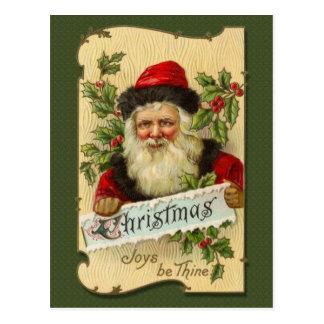 Weihnachten, Freuden ist Thine Postkarten