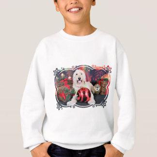 Weihnachten - Gänseblümchen - Goldendoodle Sweatshirt