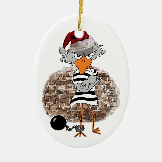 Weihnachten Gefängnis Keramik Ornament