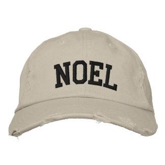 Weihnachten gestickter Hut