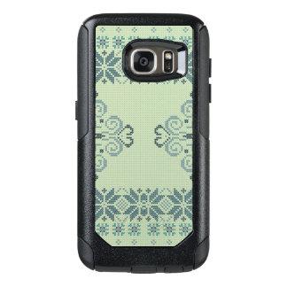 Weihnachten gestricktes Muster OtterBox Samsung Galaxy S7 Hülle