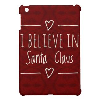 Weihnachten 'glauben an Weihnachtsmann-Zitat iPad Mini Hülle