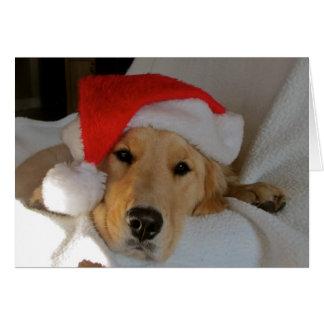 Weihnachten golden karte