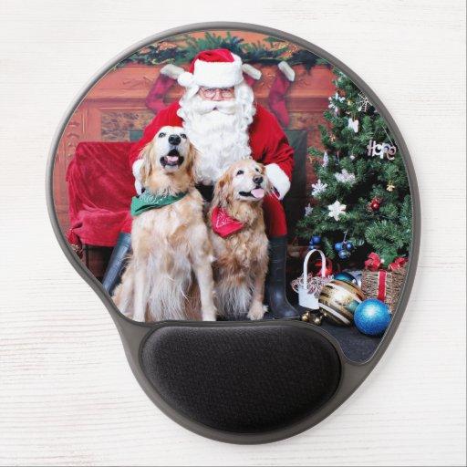 Weihnachten - golden retriever - Sadie u. nebelhaf