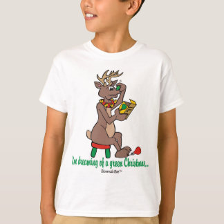 Weihnachten: Grün roch Ren T-Shirt