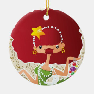 Weihnachten im Rot Weihnachtsbaum Ornamente