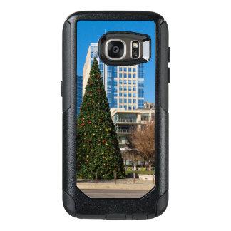 Weihnachten im Stadtzentrum gelegenes Dallas OtterBox Samsung Galaxy S7 Hülle