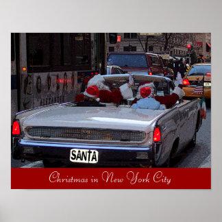 Weihnachten in New York City Poster