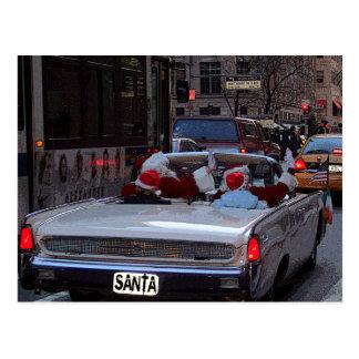 Weihnachten in New York City Postkarte