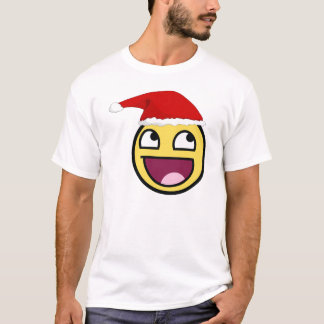 Weihnachten ist fantastischer epischer Smiley T-Shirt