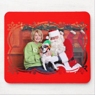 Weihnachten - Jack Russell - Eddie Mousepad