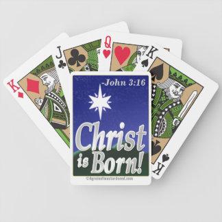 Weihnachten Jesus Bicycle Spielkarten