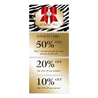 Weihnachten Jewels Wellness-Center-Marketings-Kart Personalisierte Werbekarte