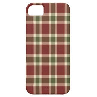 Weihnachten-kariert Etui Fürs iPhone 5