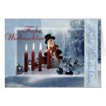 Weihnachten Karten