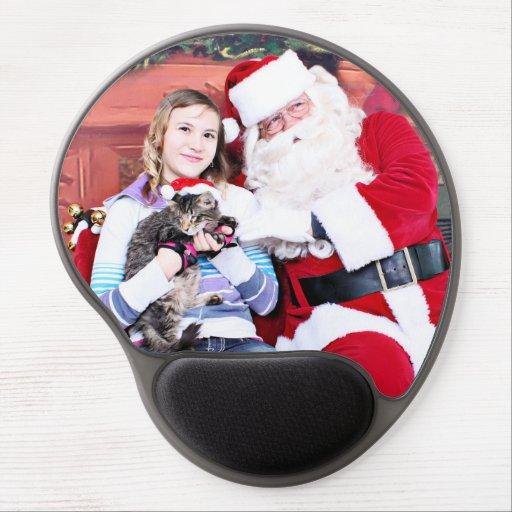 Weihnachten - Kätzchen Gel Mouse Matte