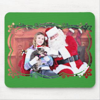 Weihnachten - Kätzchen Mousepad