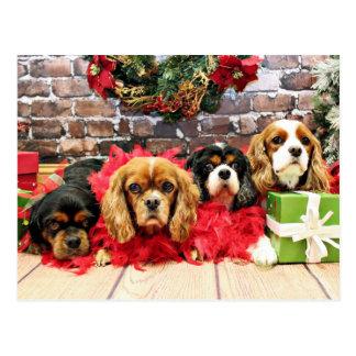 Weihnachten - Kavalier - süße Erbse, Lilie, Postkarte