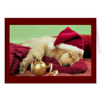 Weihnachten Labrador Karte