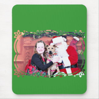 Weihnachten - Lillie - Pitbull X Mauspad