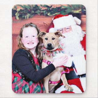 Weihnachten - Lillie - Pitbull X Mousepads