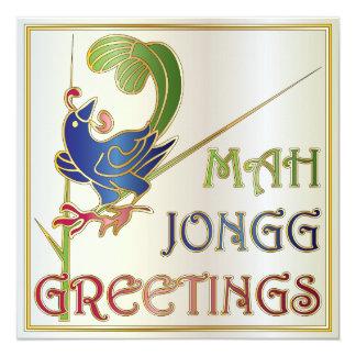 Weihnachten Milliamperestunde Jongg eine Karte