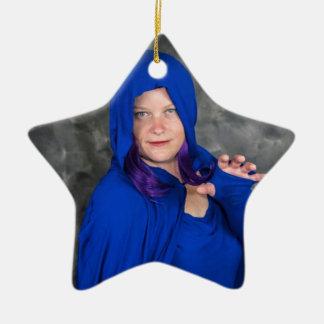 Weihnachten mit Raben und Bieger:) Keramik Ornament