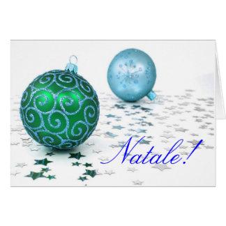Weihnachten Natale II Karte