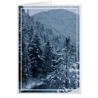 Weihnachten, neues Jahr, Feiertag - freier Raum Karte