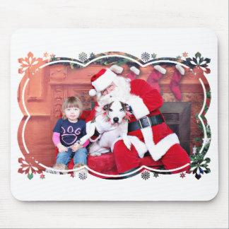 Weihnachten - Pitbull X - Lita Mousepad