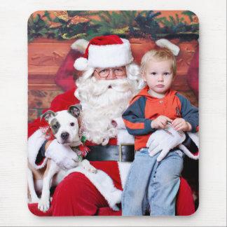 Weihnachten - Pitbull X - Stella Mousepads