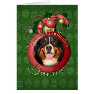 Weihnachten - Plattform die Hallen - Bernies Karte