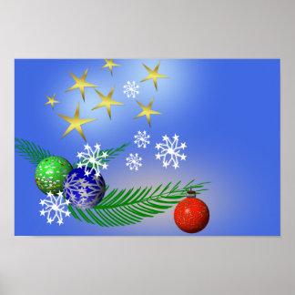 Weihnachten Plakatdruck