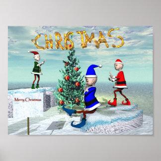 Weihnachten Plakate