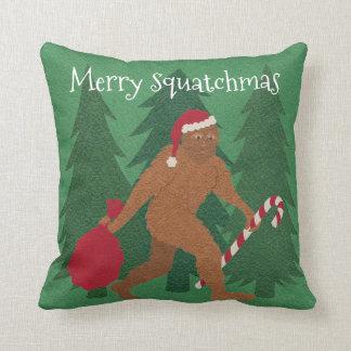 Weihnachten Sankt Squatch zum täglichen Reversible Kissen