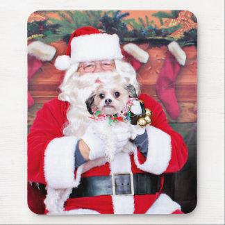 Weihnachten - Shih Tzu - Ruthie Mousepads
